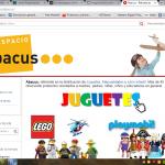 Abacus abre en Rakuten.es