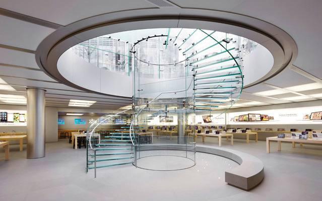 Apple trabaja en el rediseño de sus AppleStore
