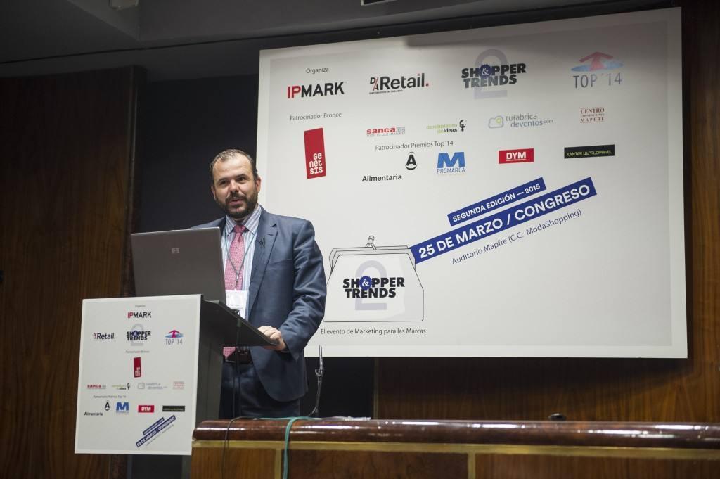 Jaime de Haro, director general de Ediciones y Estudios, presenta los Premios TOP 2015 de D/A Retail