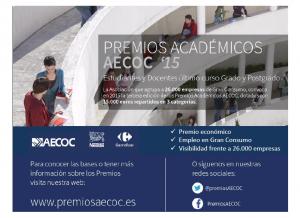 PREMIOS Acadeñmicos  AECOC 2015