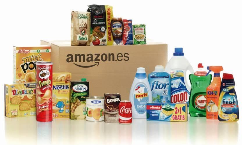 Amazon abre en espa a su tienda de alimentaci n y limpieza for Articulos para limpieza del hogar