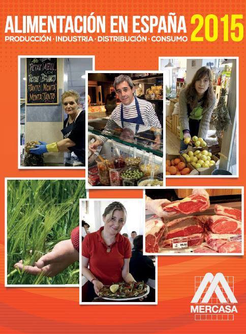 Alimentación en España 2015, última edición del informe de Mercasa