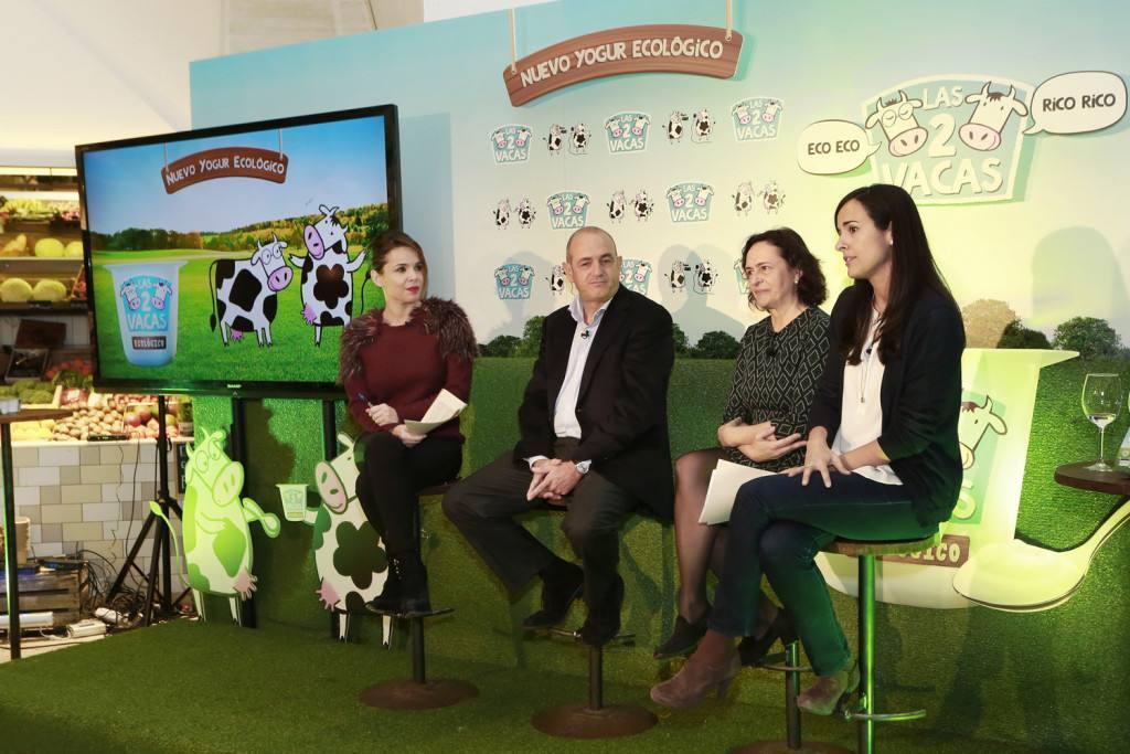 """Presentación """"Las dos Vacas"""" DANONE Ecológico"""