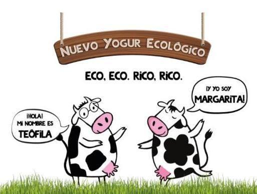 Danone trae a España el yogur ecológico Las 2 Vacas