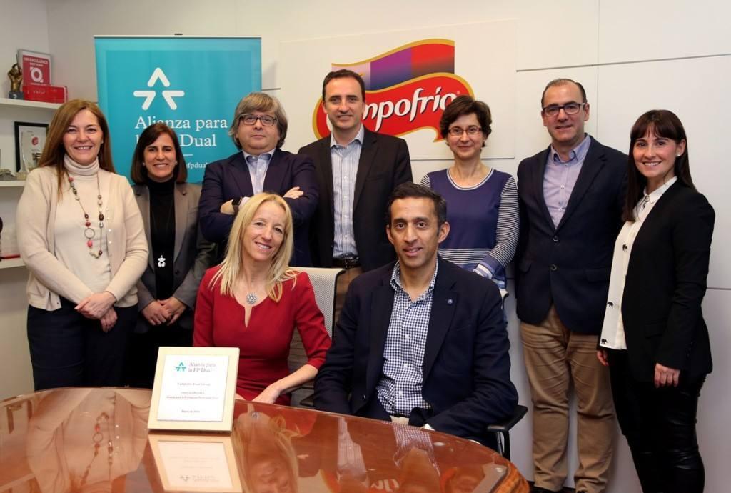 Adhesión de Campofrío Food Group a la Alianza para la Formación Profesional Dual