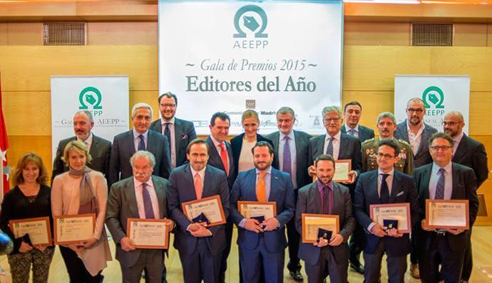 La AEEPP entrega sus Premios Editores 2016