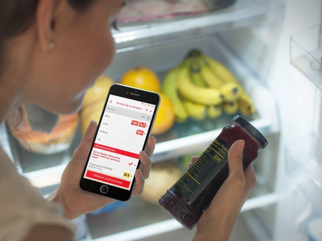 Eroski avanza en digital, añadiendo funcionalidades a su app