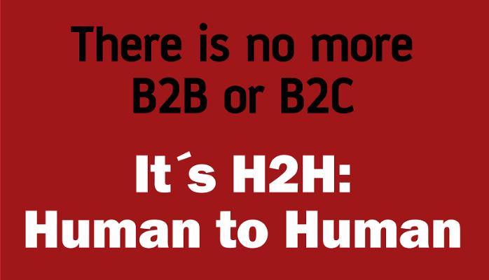 H2H. El futuro es de las personas, no de las marcas