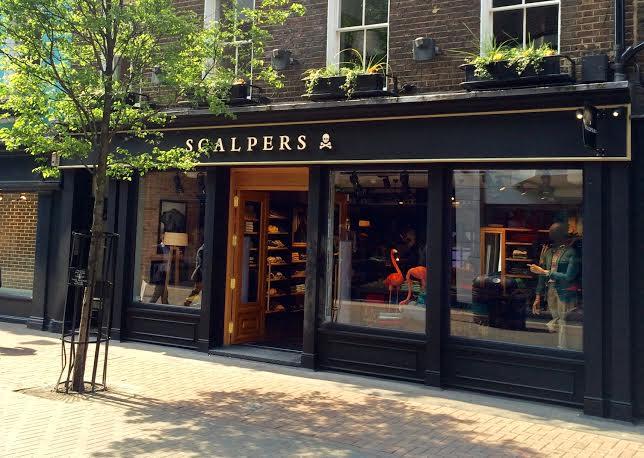 Scalpers instala su primera tienda en londres - Scalpers madrid ...