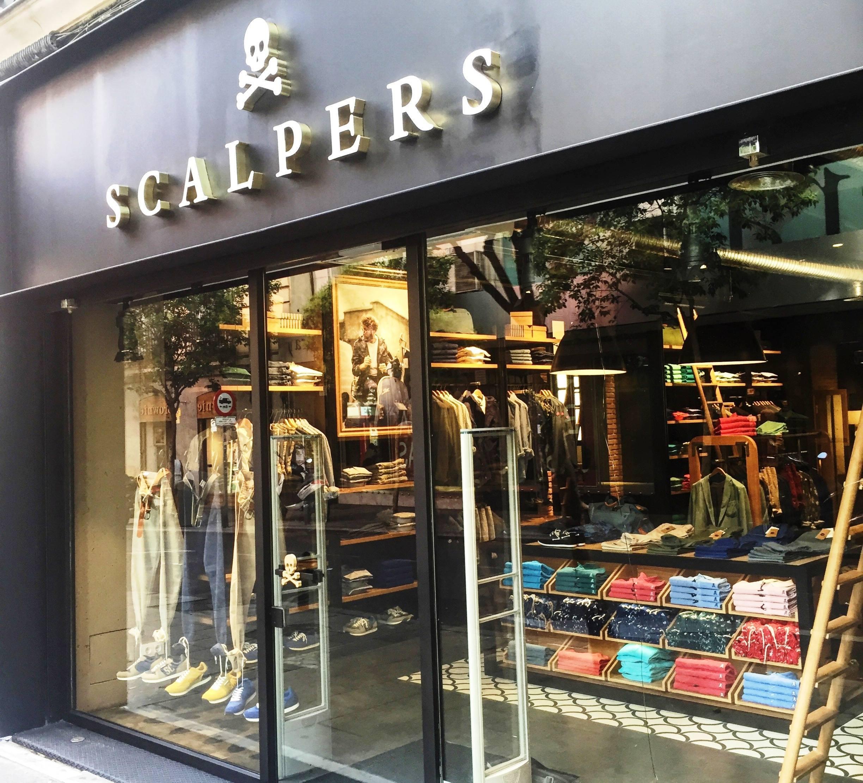 Scalpers llega a la madrile a calle de fuencarral - Scalpers jorge juan ...