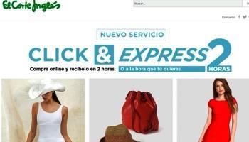 El Corte Inglés Click&Express llega ya a 37 ciudades españolas
