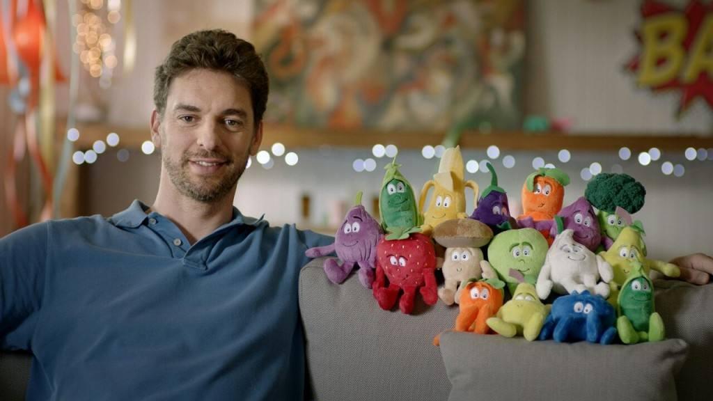 Grupo IFA y Pau Gasol promueven entre los niños los beneficios de comer sano