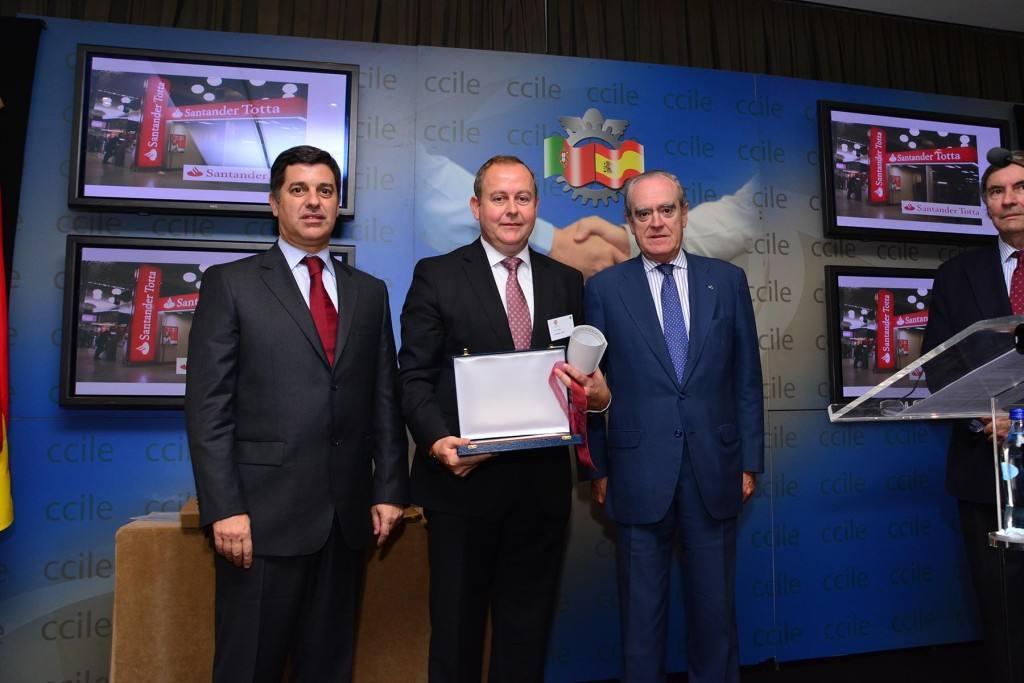 Luis Osuna, CEO de Covirán, Empresario del Año por la Cámara de Comercio Luso –Española.