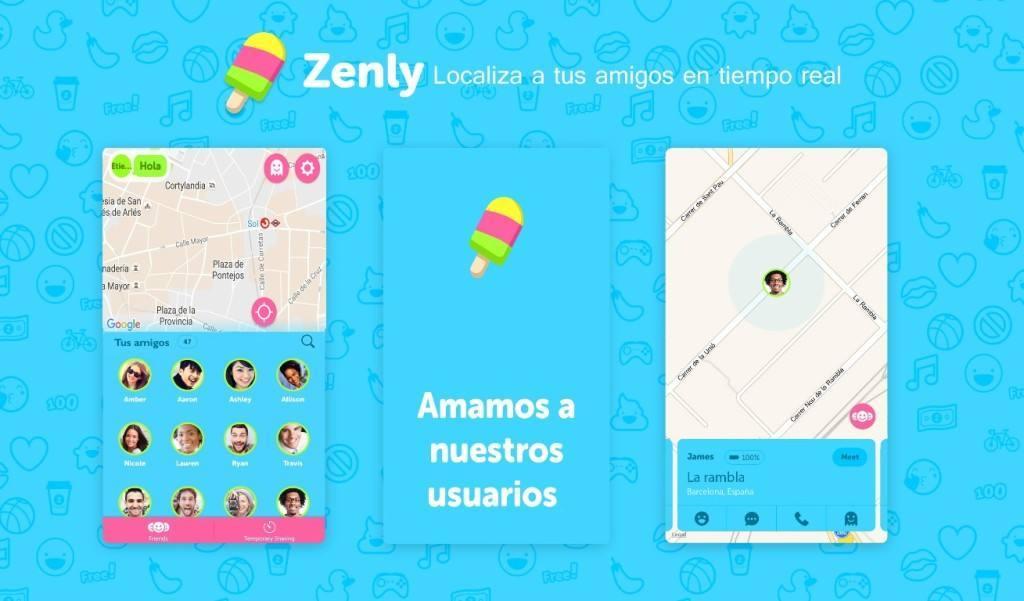 Zenly, la app de localización en tiempo real, supera los dos millones de usuarios