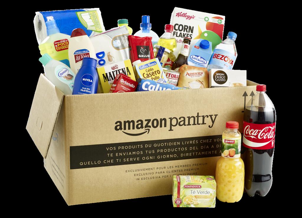 Amazon Pantry. La cesta básica de compra, en casa en una hora