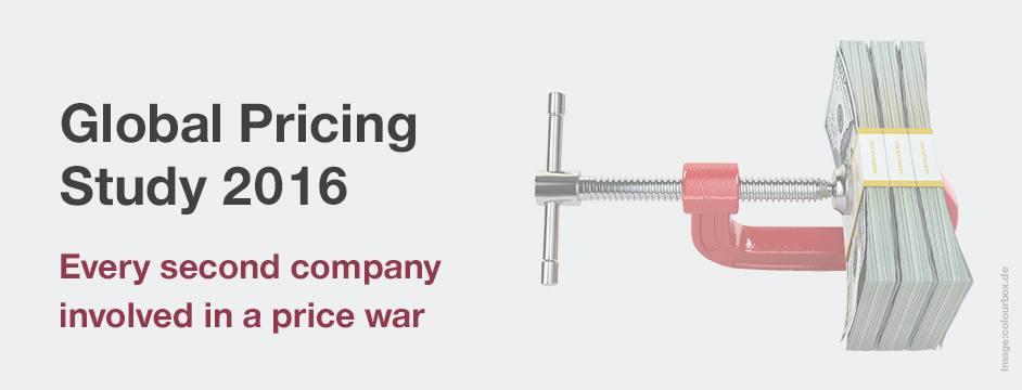 Estudio de Pricing de Simon-Kucher. El 55 % de las empresas afirma estar en constante guerra de precios