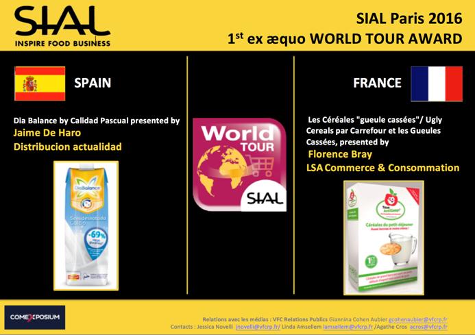 DiaBalance de Calidad Pascual y D/A Retail, se traen a España el World Tour Award Sial 2016