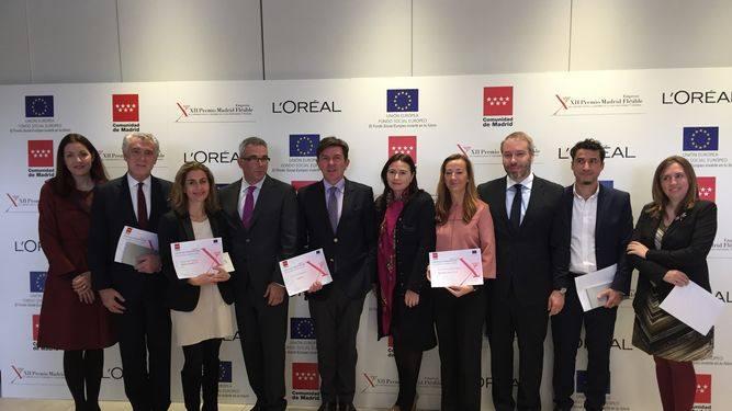 L'Oréal España, distinguida en los Premios Madrid Empresa Flexible