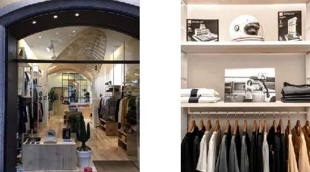 La firma de moda masculina Edmmond,  abre en Madrid su primera tienda propia