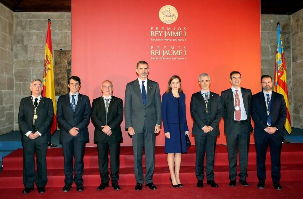 Felipe VI preside la entrega de los Premios Rey Jaime I