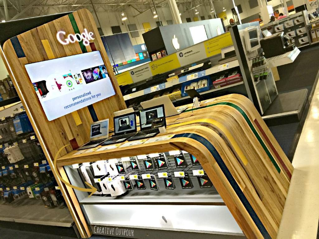 SHOP IN SHOP DE GOOGLE EN BEST BUY
