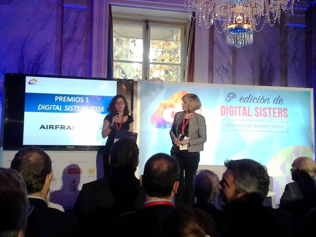Alkemics se alza con el premio a la innovación Digital Sisters 2016