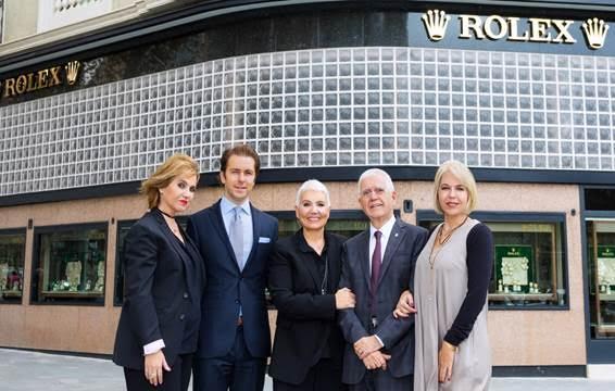 Concept store de Rolex en Paseo de Gracia, con Tous