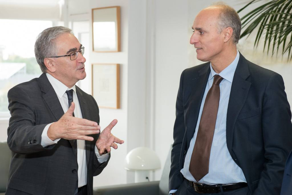El director general de Leroy Merlin, patrono de la Fundación de la Universidad Autónoma de Madrid