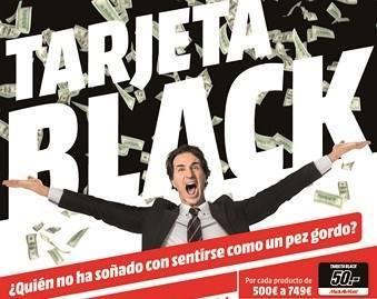 """Las """"tarjetas black"""" de Mediamarkt, incendian las redes sociales"""