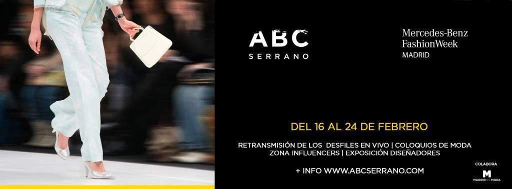 La gran cita de la moda Mercedes-Benz Fashion Week, en directo en ABC Serrano