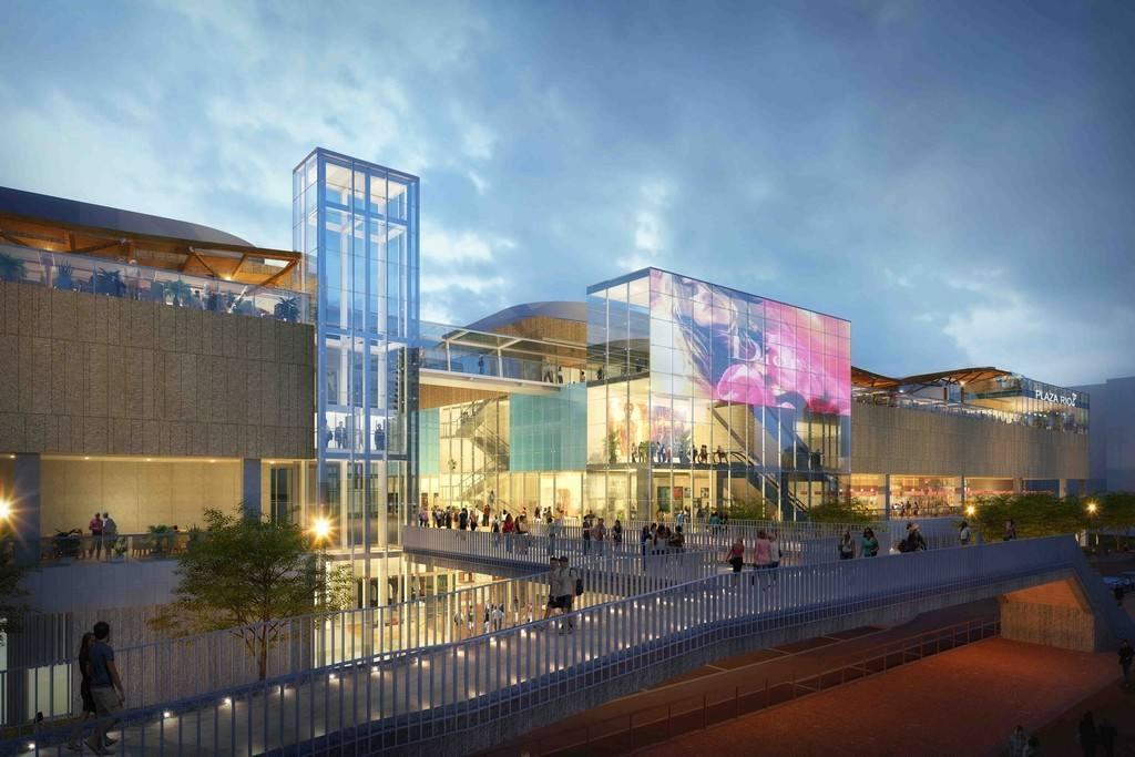 El centro comercial Plaza Río 2, frente a Madrid Río, abrirá en octubre