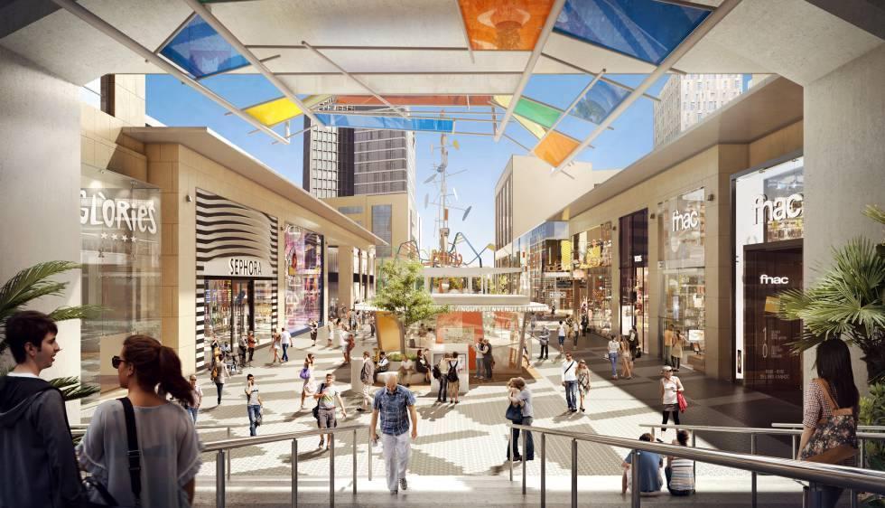 Fnac traslada su tienda de Diagonal Mar, al renovado proyecto  de centro abierto de Glòries