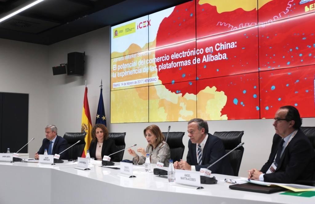ICEX analiza con Alibaba, las oportunidades del comercio electrónico en China
