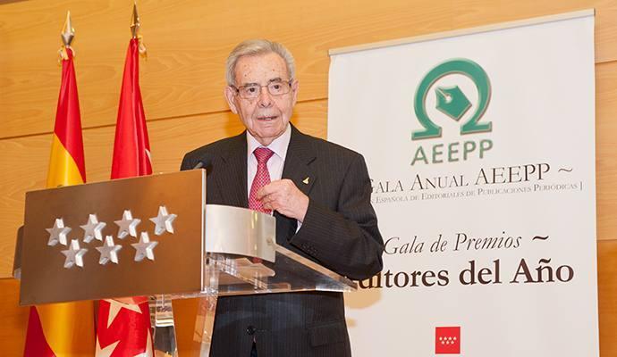 Miguel de Haro, fundador de D/A Retail, IPMark y Restauración News, presidente de honor de la AEEPP