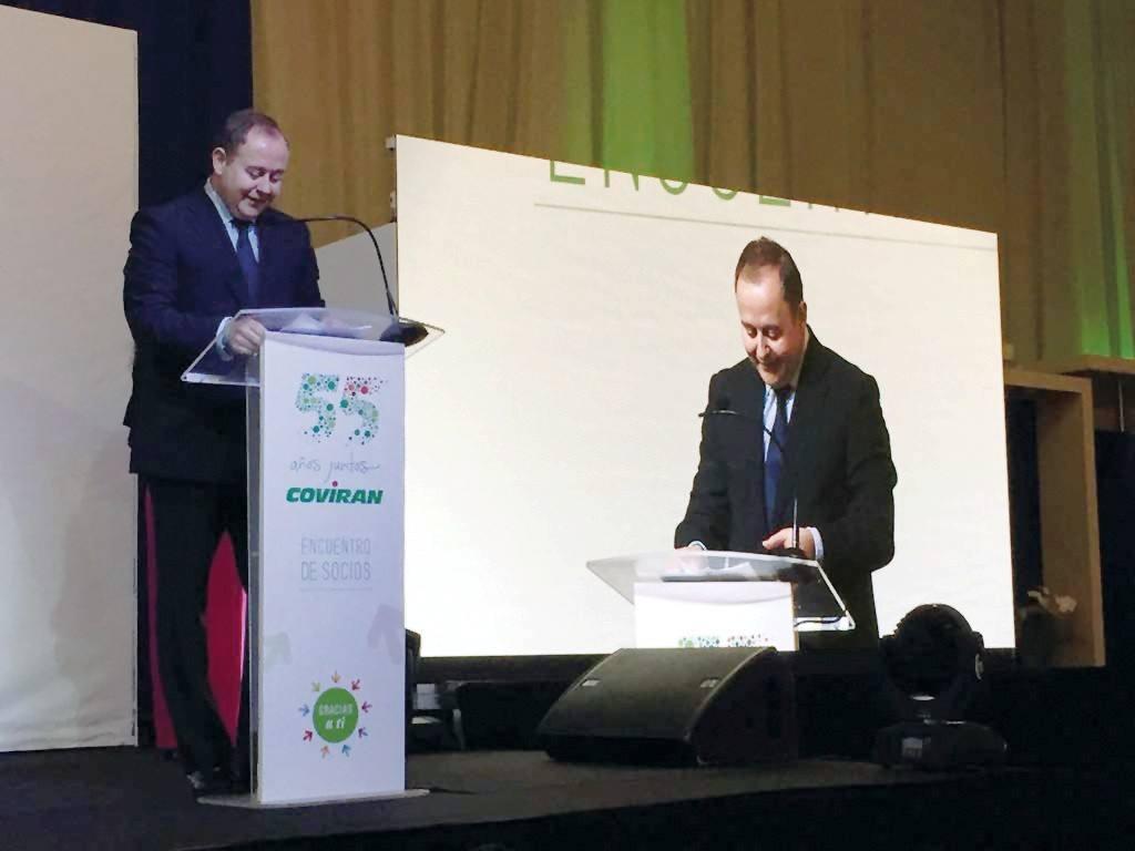 Covirán celebra su 55 aniversario con 300 socios de Castilla-León y Galicia