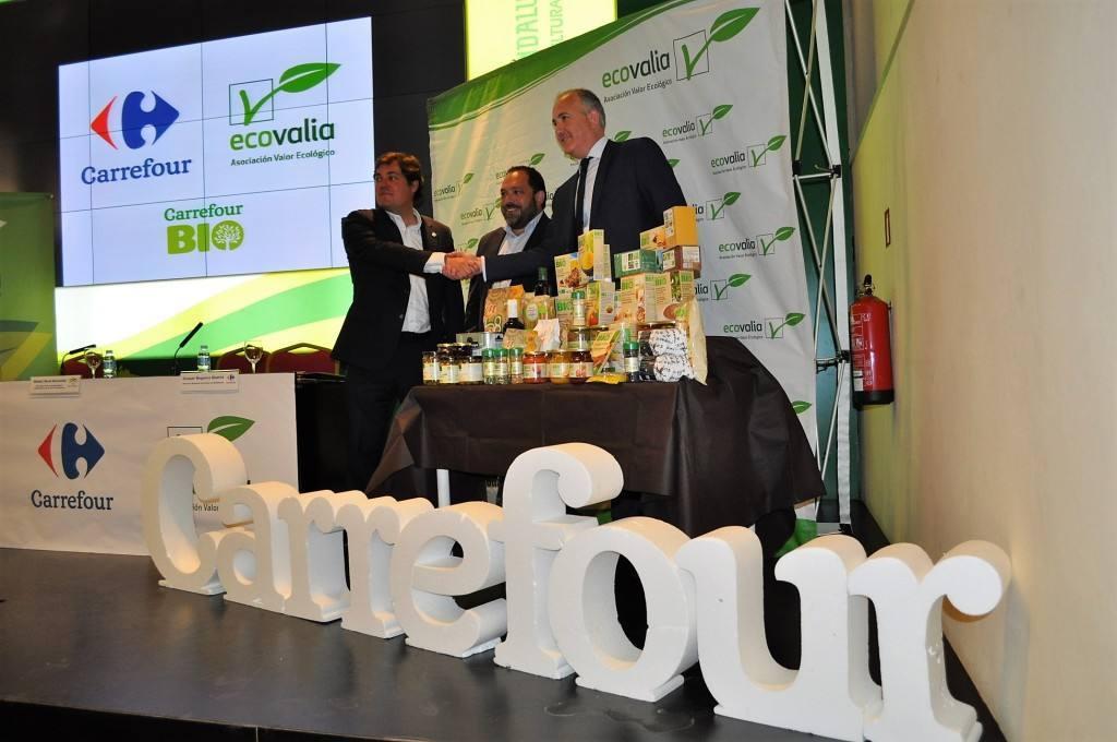 Carrefour potenciará con Ecovalia la producción y el consumo ecológico