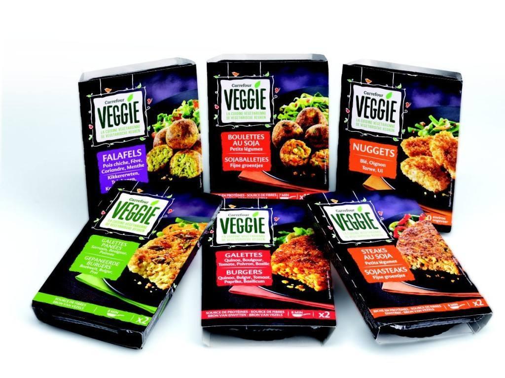 'Carrefour Veggie', MDD para veganos y flexitarianos