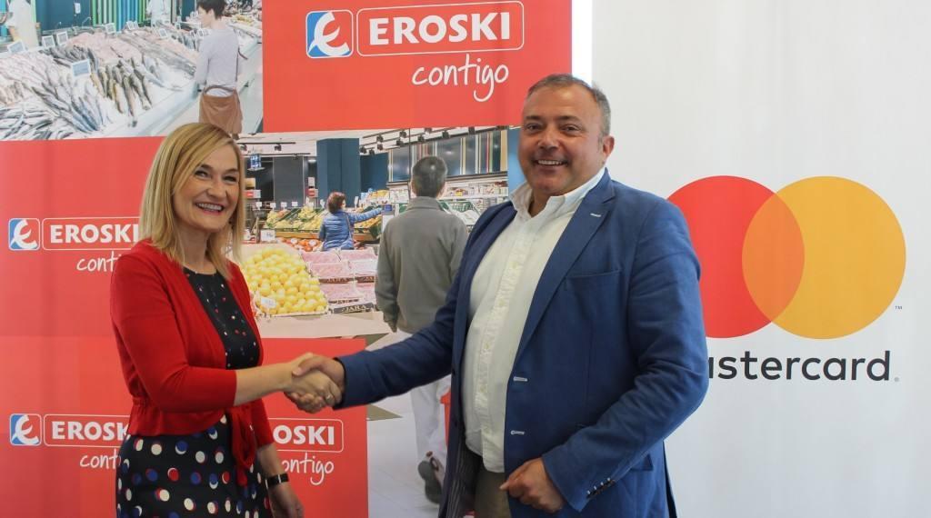 Nueva tarjeta Eroski Club con Mastercard, para sus socios clientes