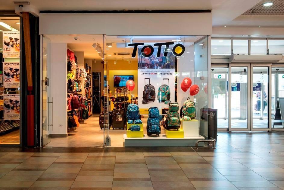 Nuevos operadores retail. Totto abre su sexta tienda en España