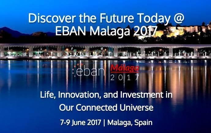 Cita startups. Eban Málaga Congress 2017,  a punto