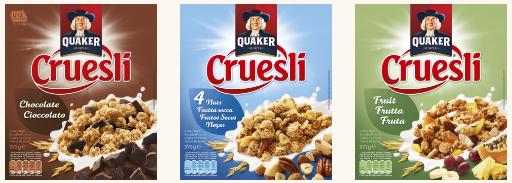 Pepsico lanza copos de avena Quaker sin gluten