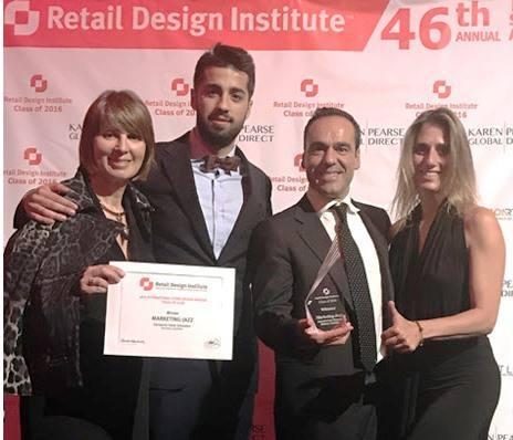 Marketing Jazz gana su quinto galardón en los Store Design Awards