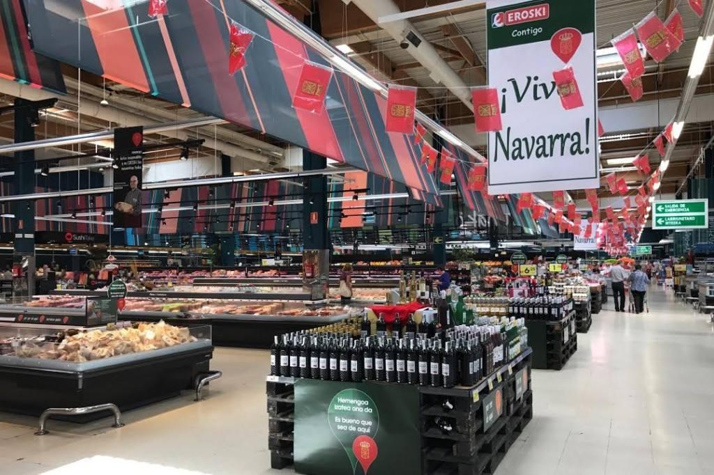 Eroski lanza campaña de apoyo a los alimentos navarros
