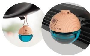 Cristalinas presenta su ambientador de coche con pinza