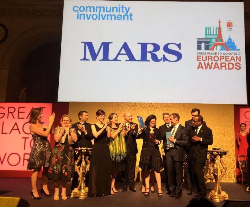 Mars, mejor multinacional para trabajar en Europa