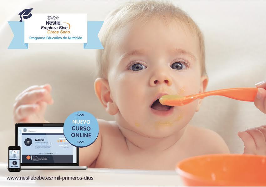 Nestlé lanza online un Programa Educativo de Nutrición