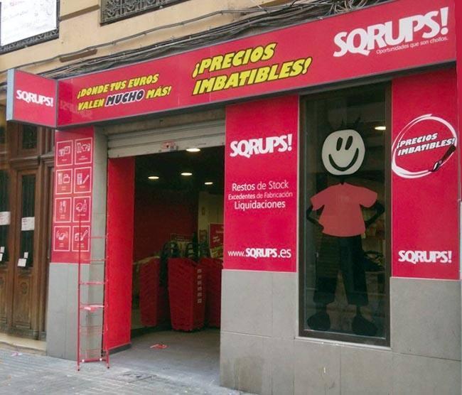 Los outlets urbanos de venta de stocks de Scrups!,  se multiplican