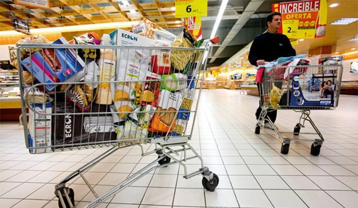 El gran consumo continúa al alza con el empuje de supermercados e hipermercados