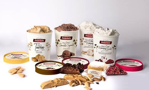 Delaviuda y La Ibense Bornay lanzan confitería helada artesana