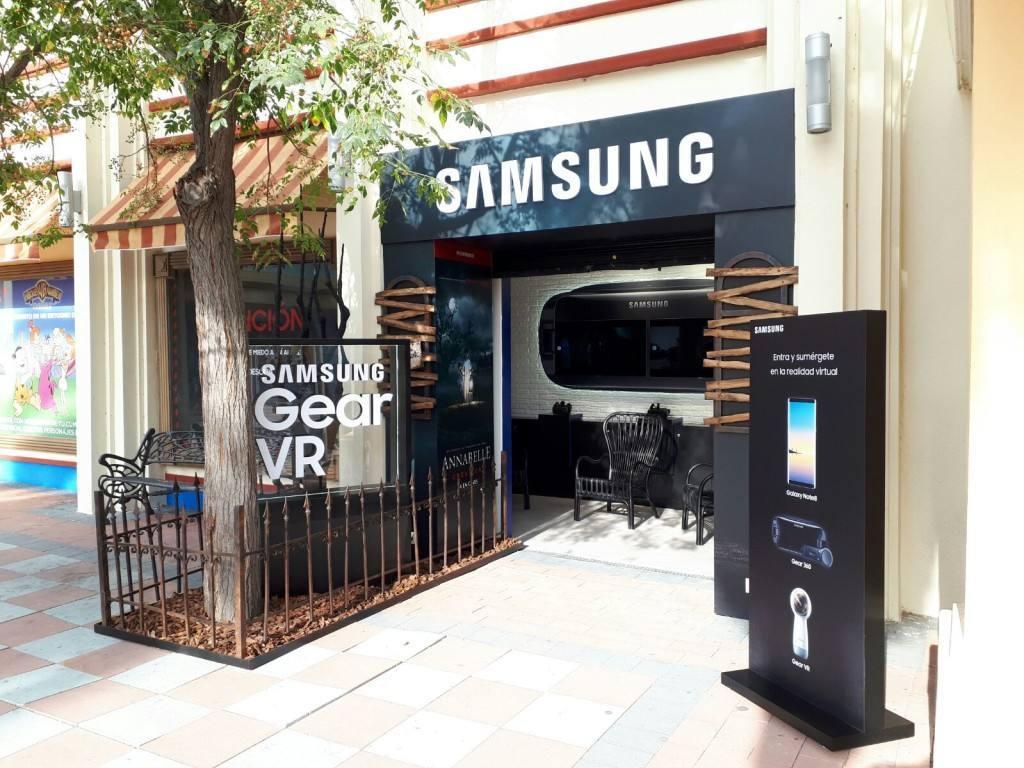 Samsung abre un espacio de ocio y tecnología en Parque Warner
